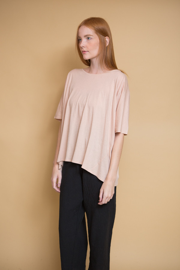 Kowtow Building Block Oversized Tee / Blush