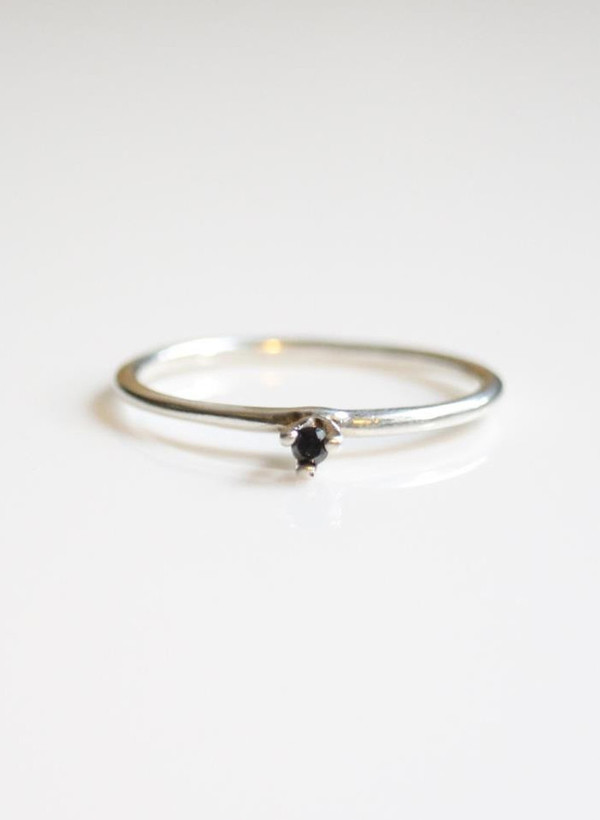 Tarin Thomas Black Diamond Taylor Ring