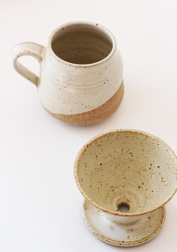 Sue Kang Ceramic Coffee Pour Over Set 1