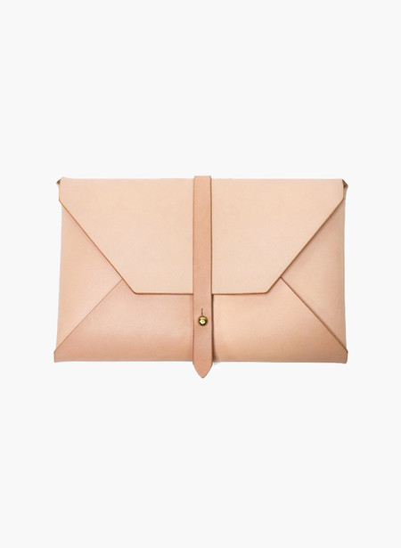 Woodlark Natural Envelope Clutch