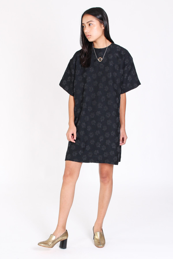 Delfina Balda Hera tunic in black