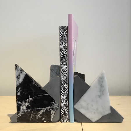 "Chen and Kai ""Metamorphic"" Rock Bookend"