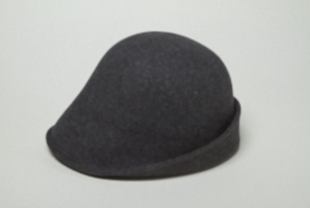 Clyde 4 Way Hat in Charcoal Grey Wool