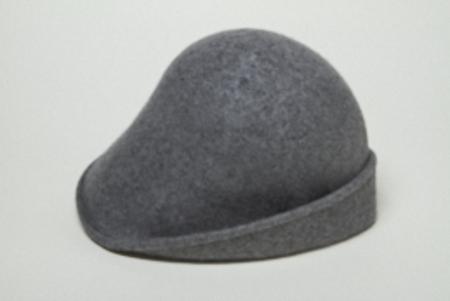 Clyde 4 Way Hat in Heather Grey Wool