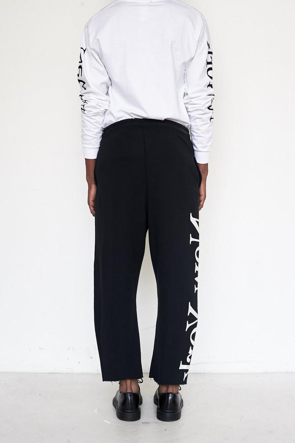 Assembly New York Cotton Logo Sweatpants - New York