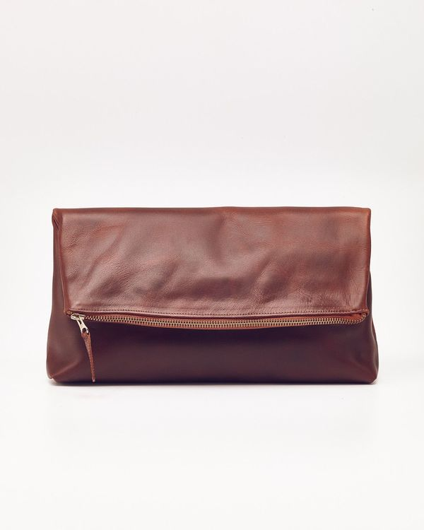Nisolo Lima Clutch Brandy - What's It Worth