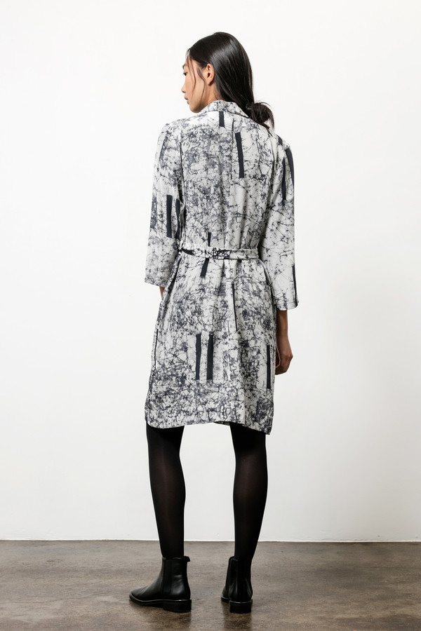 Osei-Duro Corium Dress in Broken Barcode