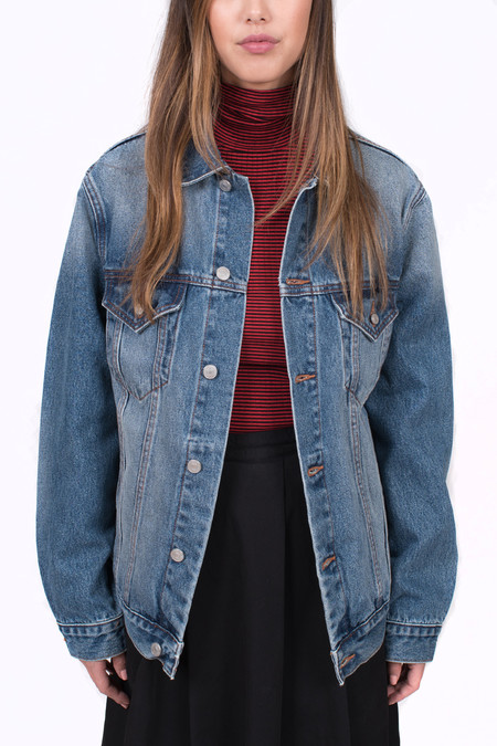 Earnest Sewn Cecil Oversized Denim Jacket