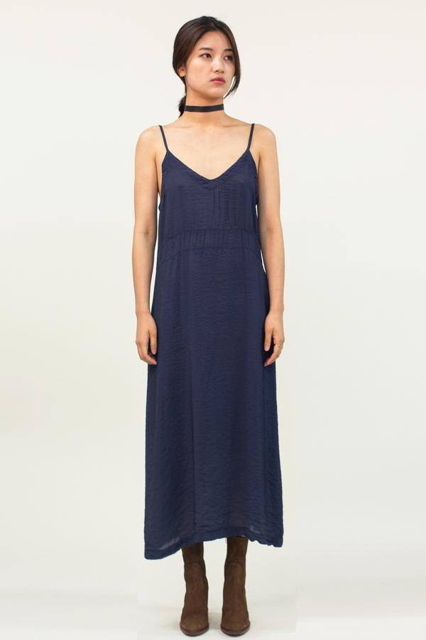 LACAUSA Alma Slip Dress- Velvet