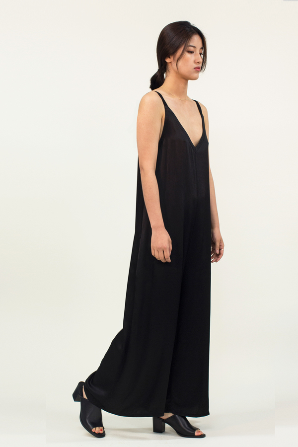 LACAUSA Santi Jumpsuit- Black