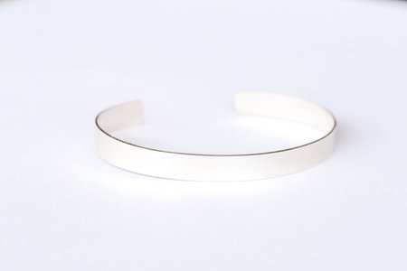 Favor Basic Sterling Silver Cuff