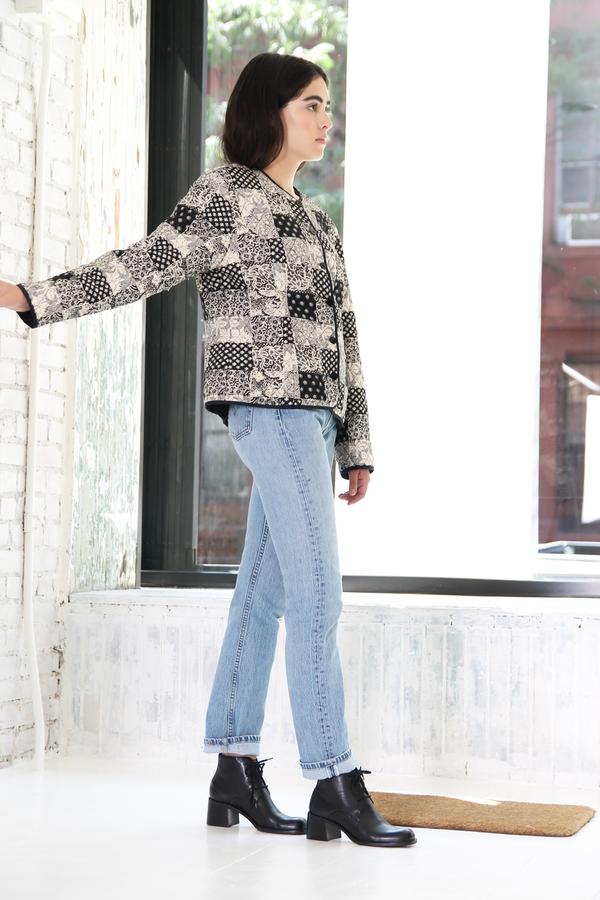 DUO NYC Vintage Silk Patchwork Jacket