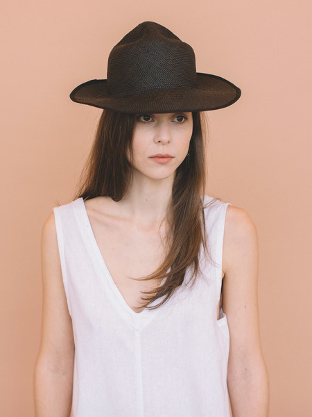 Brookes Boswell Yama Imo Straw Hat
