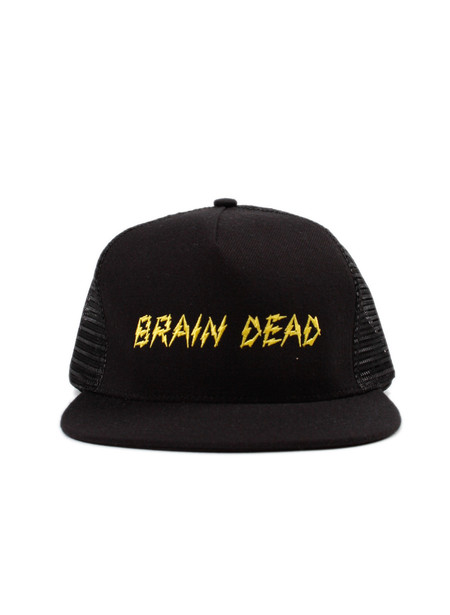 Brain Dead Bolt Mesh Hat Black