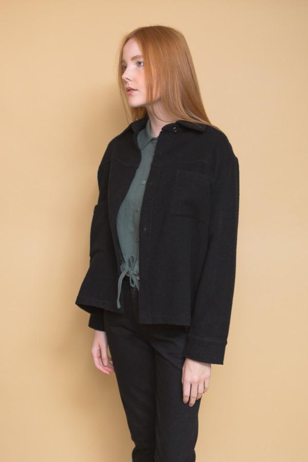 First Rite Work Jacket / Black Wool