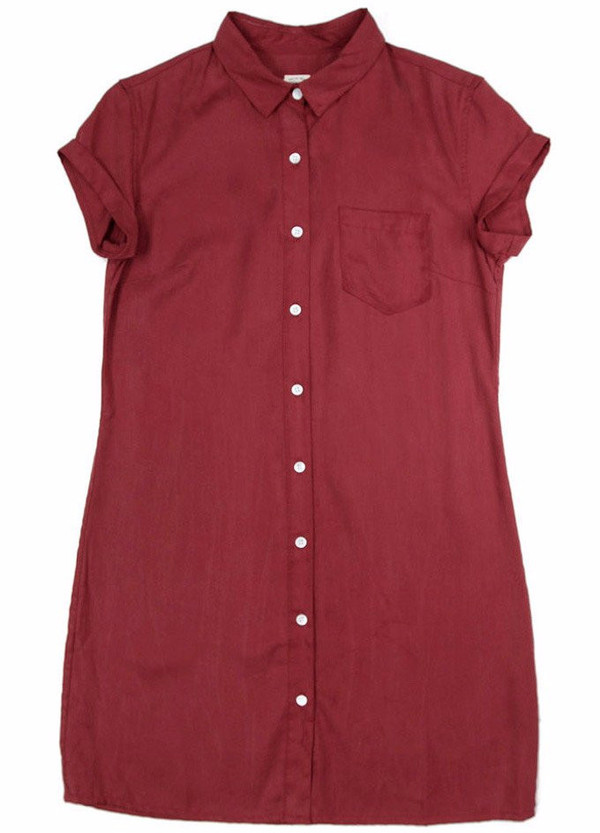 Bridge & Burn Loren Dress / Burgundy