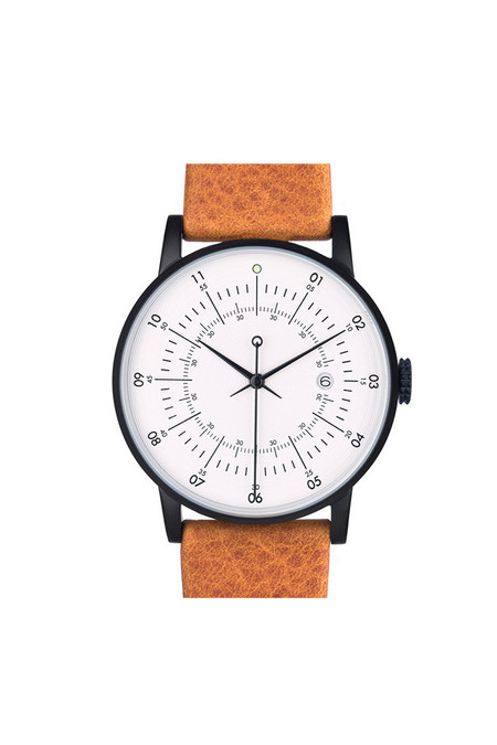 Men's Squarestreet SQ38 Plano Watch Camel