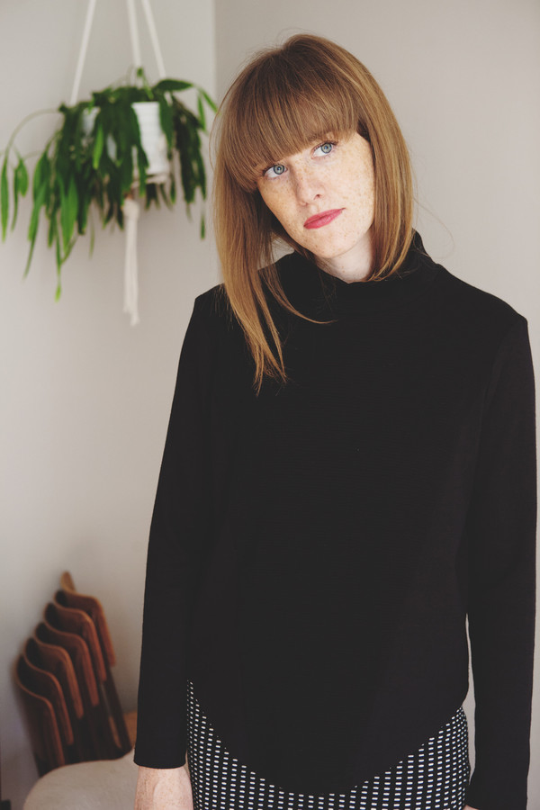 Eve Gravel Orbit Turtleneck