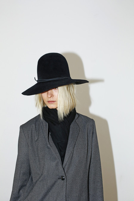 Clyde Angora Dome Hat