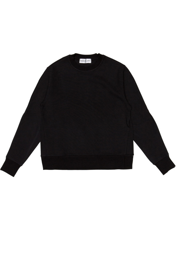 ROCKET LUNCH Slit Sweatshirt- Black