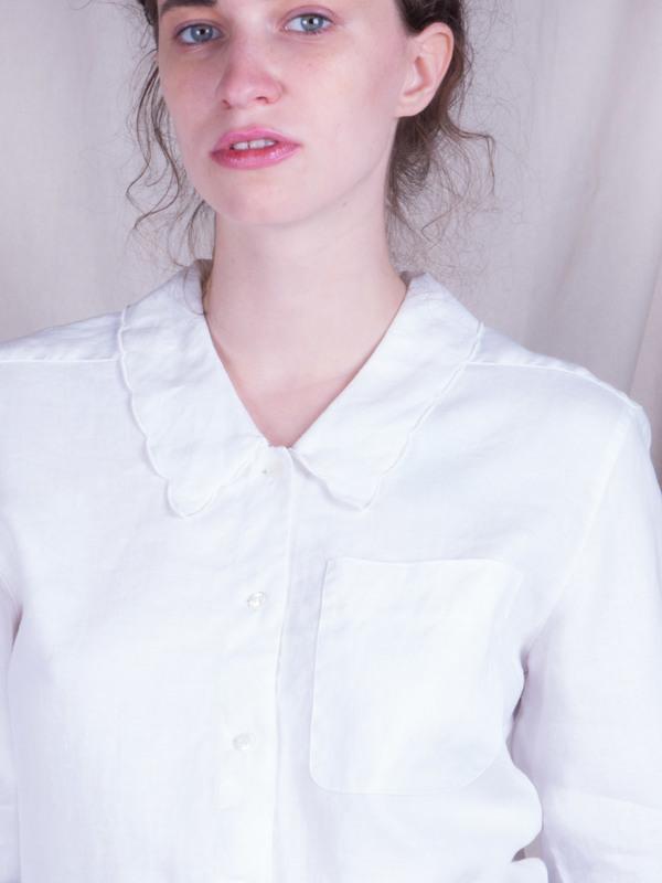 DUO NYC Vintage Liz Claiborne Linen Buttondown