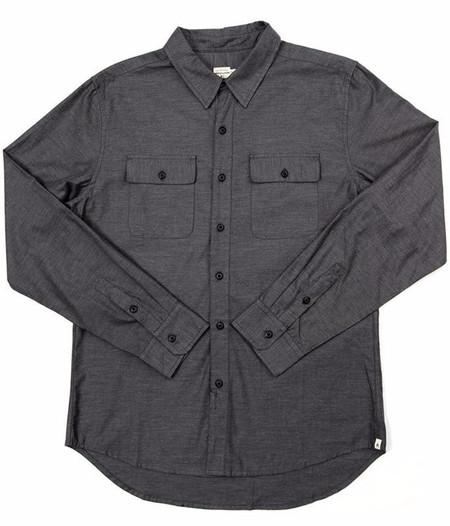 Men's Bridge & Burn Franklin Shirt / Slate Twill
