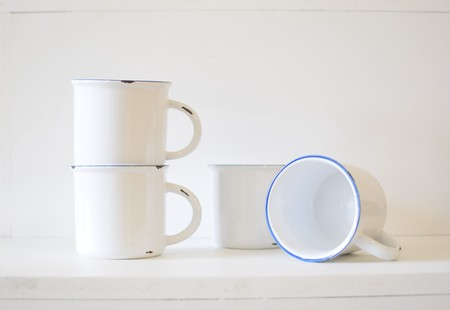 Canvas Home Tinware Mug Set