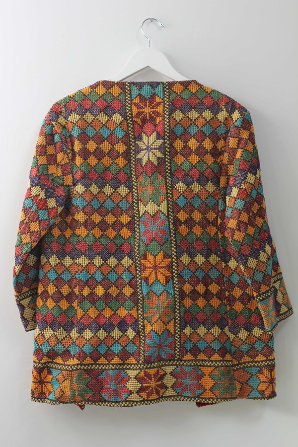 Hey Jude Vintage Decorative Woven Jacket