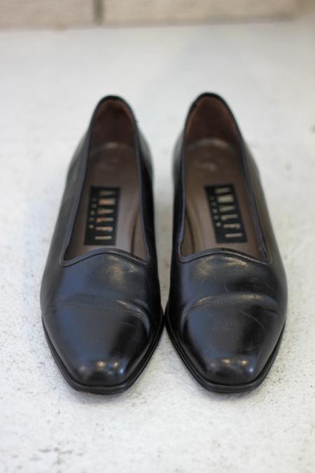 Hey Jude Vintage Italian Leather Flat