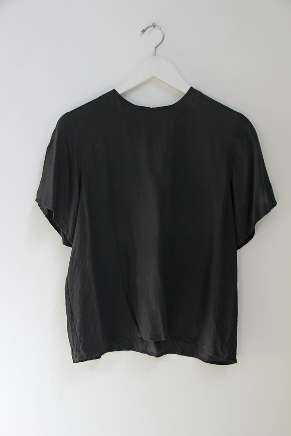 Hey Jude Vintage Midnight Silk Tee