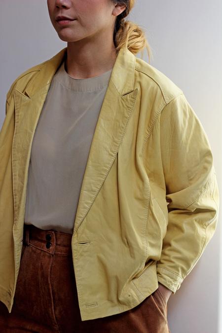 Hey Jude Vintage Leather Jacket