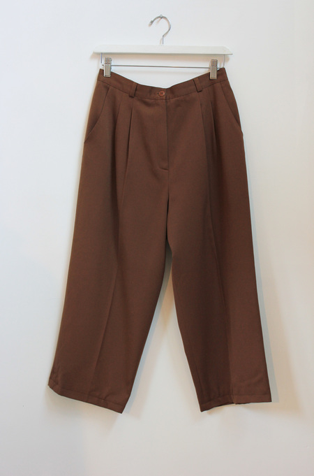 Hey Jude Vintage Wool Cropped Trousers