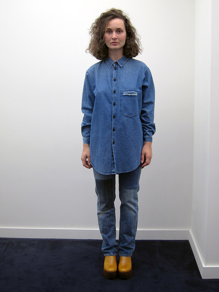 69 Stevie Shirt, Medium Denim