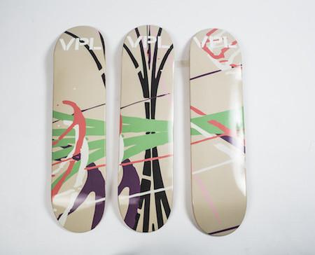 VPL Skateboard deck