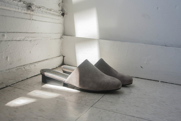 Intentionally Blank TOUCH Grey Suede