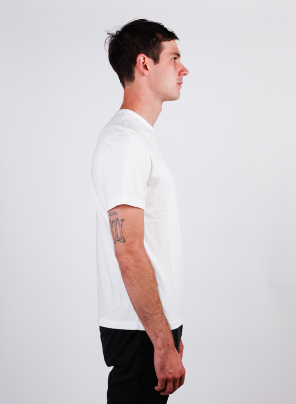 Men's Homespun Dad's Pocket Tee Winter White