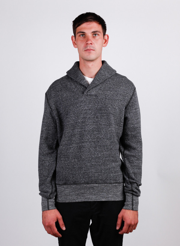 Men's National Athletic Goods Shawl Pullover Granite