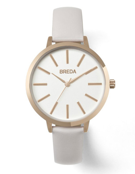 Breda Joule Watch Rose Gold Blush