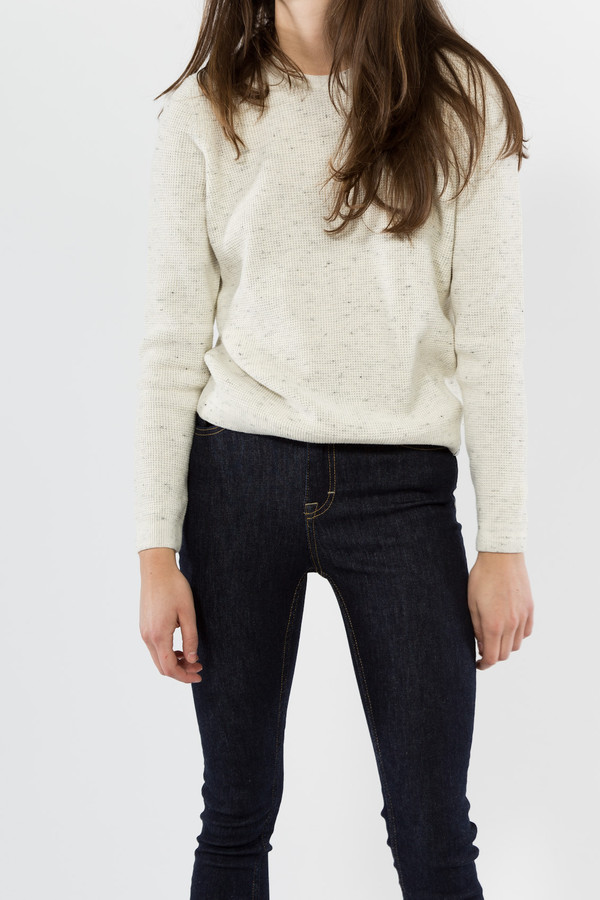Norse Projects Freja Waffle Sweater
