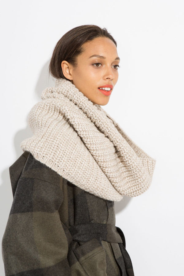 SCHAI Vita Snood - Oatmeal