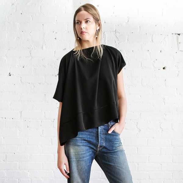 Gary Graham Square Top Black