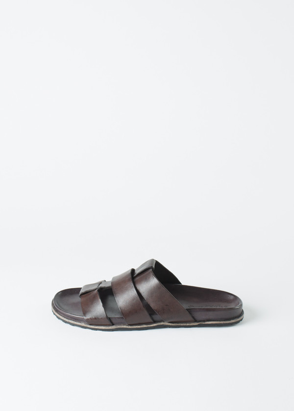 Brador Three Strap Sandal