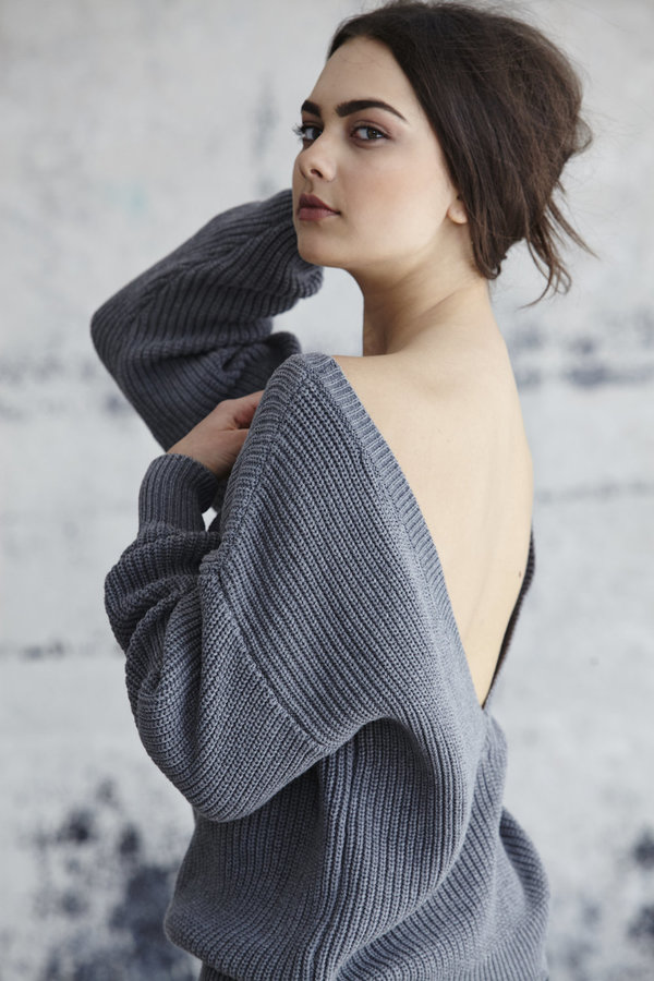 Callahan V Back Sweater