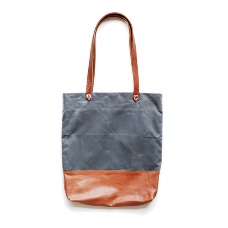 AW By Andrea Wong BAGUETTE BAG | SLATE + CARAMEL