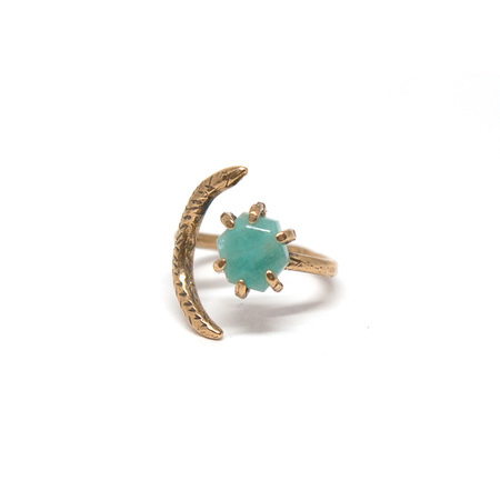 Laurel Hill Jewelry Io Ring // Amazonite