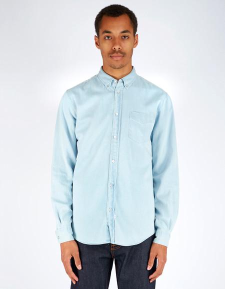 Men's Assembly Label Endless Denim Shirt Pale Denim