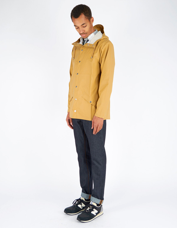 Rains Jacket Men's Khaki