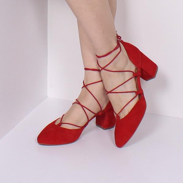 L'Intervalle Piti Shoe -Red