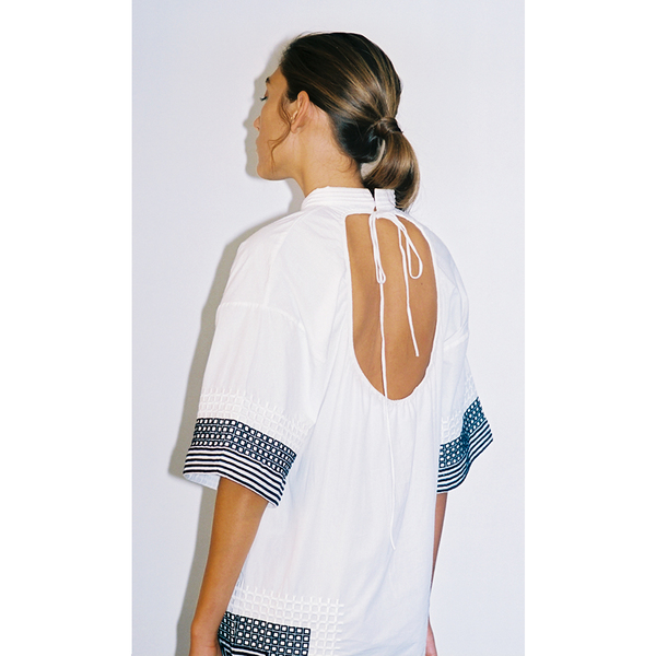 Amara Embroidered Tunic-XS/S