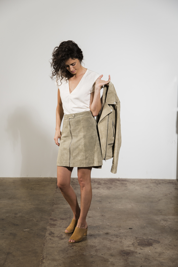 Just Female FER ZIP SKIRT